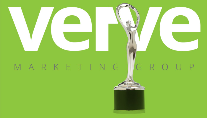 Verve Marketing Group web trophy award image