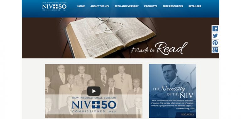 NIV 50th Anniversary