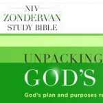 NIV Zondervan Study Bible site design
