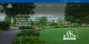 All-America Selections website banner