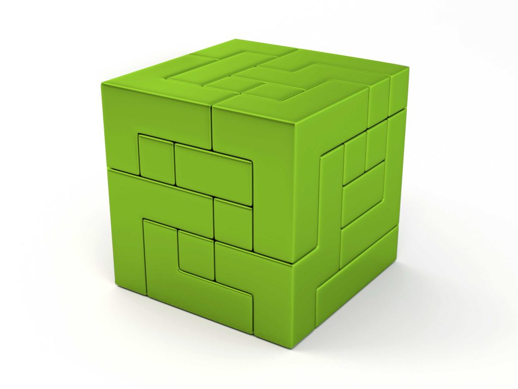 Marketing Strategy cube