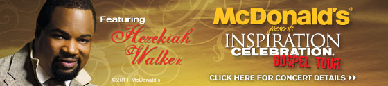 McDonald's Inspiration Gospel Tour web banner