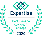 Best Branding Agencies in Chicago by Expertise badge awarded to Verve Marketing Group